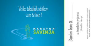 Darilni bon Maraton Savinja